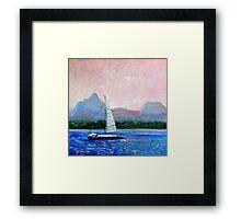 Pumicestone Passage Bribie Island Queensland Framed Print