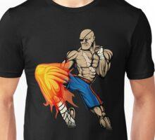 Tiger Knee Sagat Unisex T-Shirt
