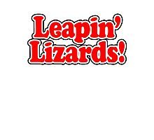 ANNIE - Leapin' Lizards Photographic Print