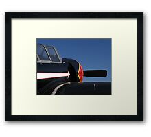 Black Yak Framed Print