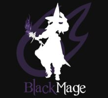 Black Mage - Final Fantasy XIV [black] by Daniel Espinola