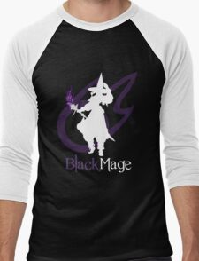 Black Mage - Final Fantasy XIV [black] Men's Baseball ¾ T-Shirt