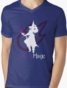 Black Mage - Final Fantasy XIV [black] Mens V-Neck T-Shirt