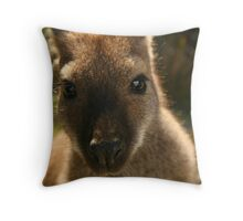 Miss Wallaby Throw Pillow