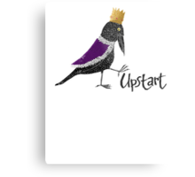 Upstart Crow Metal Print