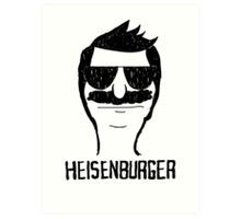 Heisenburger dark shirt ipad iphone 6 case mug Art Print