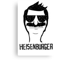 Heisenburger dark shirt ipad iphone 6 case mug Canvas Print