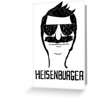 Heisenburger dark shirt ipad iphone 6 case mug Greeting Card