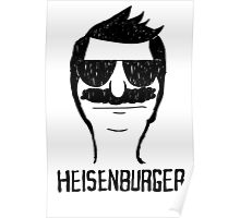 Heisenburger dark shirt ipad iphone 6 case mug Poster