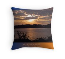 all my days Throw Pillow