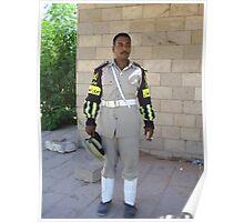 Keeping us safe at Abu Simbel Poster