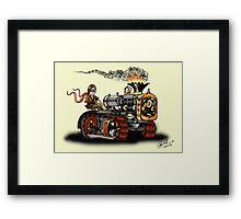 Steampunk Best Tractor 1923 Framed Print
