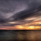 Denham Sunset by Damiend