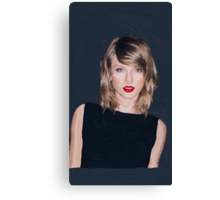 Painting of Taylor Swift Canvas Print
