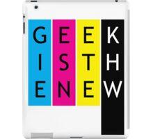 Geek is the new... iPad Case/Skin