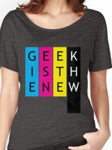 Geek is the new... Women's Relaxed Fit T-Shirt