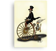 STEAMPUNK PENNY FARTHING Canvas Print