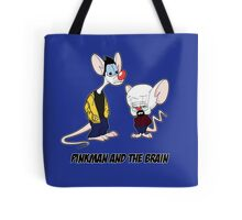 Pinkman and the brain - Breaking Bad/ Pinky and the brain Tote Bag