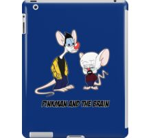 Pinkman and the brain - Breaking Bad/ Pinky and the brain iPad Case/Skin