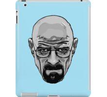 Walter White - Heisenberg - Breaking Bad- Black and White iPad Case/Skin