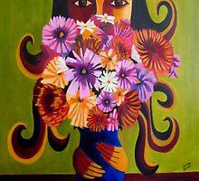 Flowergirl by Samina Jose Islam