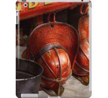 Fireman - Hats - I volunteered for this  iPad Case/Skin