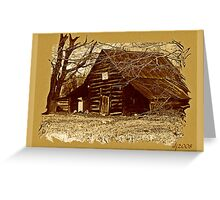 sepia days Greeting Card