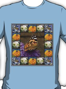 Bees and Butterflies Collage T-Shirt