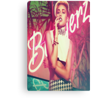 Miley Bangerz Metal Print