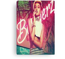 Miley Bangerz Canvas Print