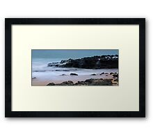 washed rocks Framed Print