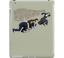 Mother Superior doesn't believe in waiting. iPad Case/Skin