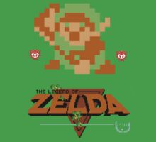 Classic Zelda by clearspace80