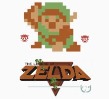 Classic Zelda Kids Tee