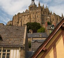 Mont Saint Michel (Normandy, France) by Roger Barnes
