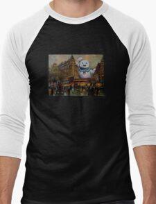Night on the Town Men's Baseball ¾ T-Shirt