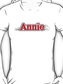 ANNIE - Title with NY T-Shirt