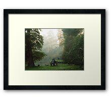 'Embracing Nature' Framed Print