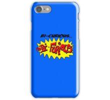 Scott Pilgrim VS The World - Bi- Curious...I'm Bi- Furious iPhone Case/Skin
