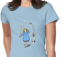 Adventures in Wonderland Womens Fitted T-Shirt