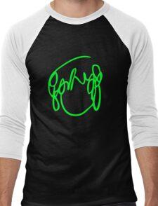 Scott Pilgrim VS the World - Have you seen a girl with hair like this...Ramona Flowers GREEN Men's Baseball ¾ T-Shirt