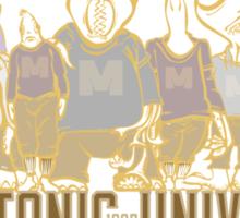 MISKATONIC TEAM 1925 Sticker
