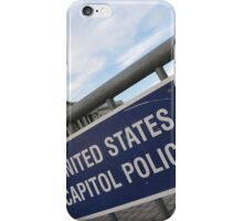United States Capitol Police iPhone Case/Skin