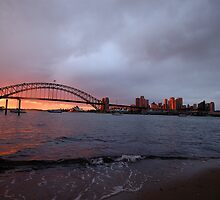 Reflections of Day - Moods Of A City, Sydney Australia by Philip Johnson