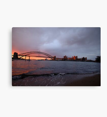Reflections of Day - Moods Of A City, Sydney Australia Canvas Print