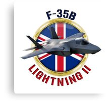 RAF F-35B Lightning II  Canvas Print