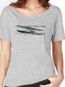 Wrights and Wrongs Women's Relaxed Fit T-Shirt