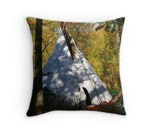 Hidden Tipi Throw Pillow