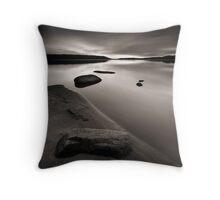 Beach, Rocks and Water II Throw Pillow