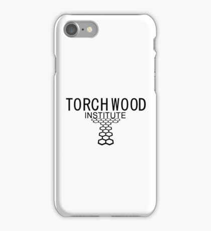 Torchwood employee shirt 1  iPhone Case/Skin